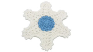 Winters Way Snowflake Tablemat