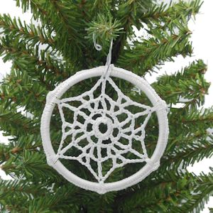 Winters Coming Snowflake Sun Catcher