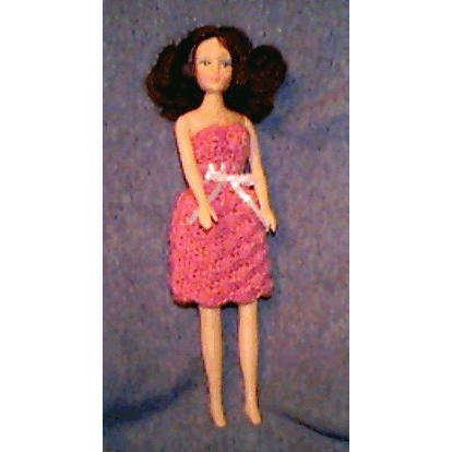 Fashion Doll Summer Party Dress and Shawl