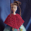 Fashion Doll Dressy Poncho