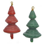 Paper Bead Christmas Tree Ornament